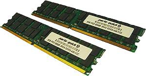 4GB Kit 2 x 2GB Memory for Dell PowerEdge 2850 Server PC2-3200R ECC Registered DDR2-400 240 pin 1.8v DIMM