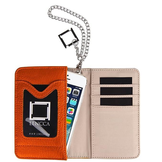 Amazon.com: Lencca Kymira II Wallet Caso embrague para ZTE ...