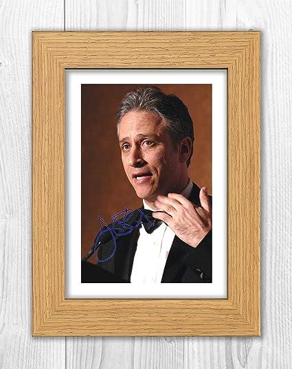 Jon Stewart Signed Autographed 8x10 Photograph Entertainment Memorabilia Autographs-original