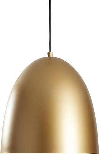 Amazon Brand Rivet Mid-Century Dome-Shaped Pendant Light