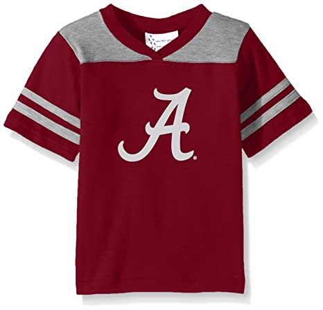 Image Unavailable. Image not available for. Color  Two Feet Ahead NCAA Alabama  Crimson Tide Toddler Boys Football Shirt ... ba5640974