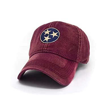 8fc9cfbe75546 Tennessee Flag Tri-Star Hat