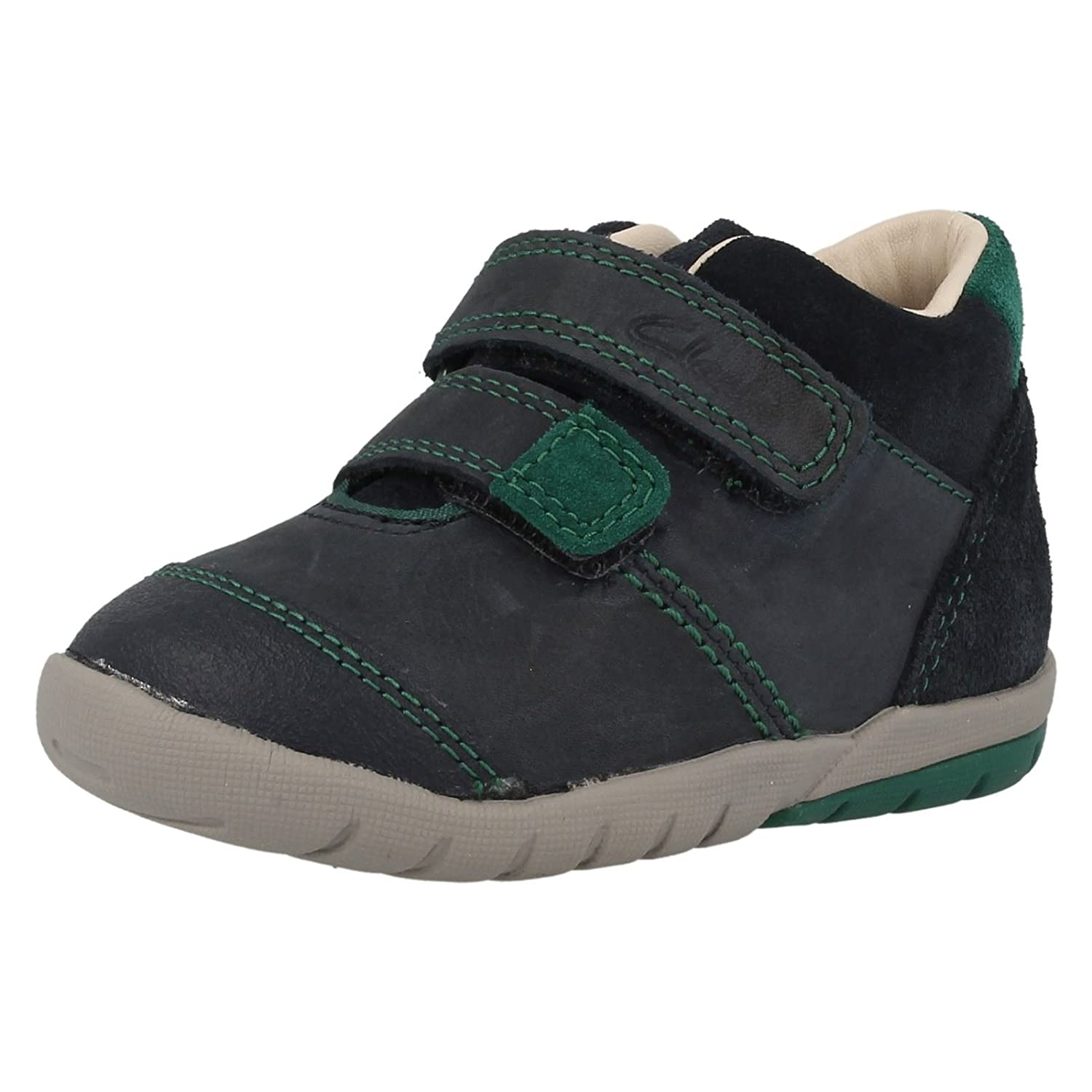f6d28b1cc58 Clarks Softly Joe Boys First Boots Child UK 7.5 G Blue  Amazon.co.uk  Shoes    Bags