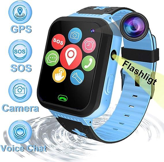 Smartwatch Reloj Inteligente Teléfono para niños con GPS ...