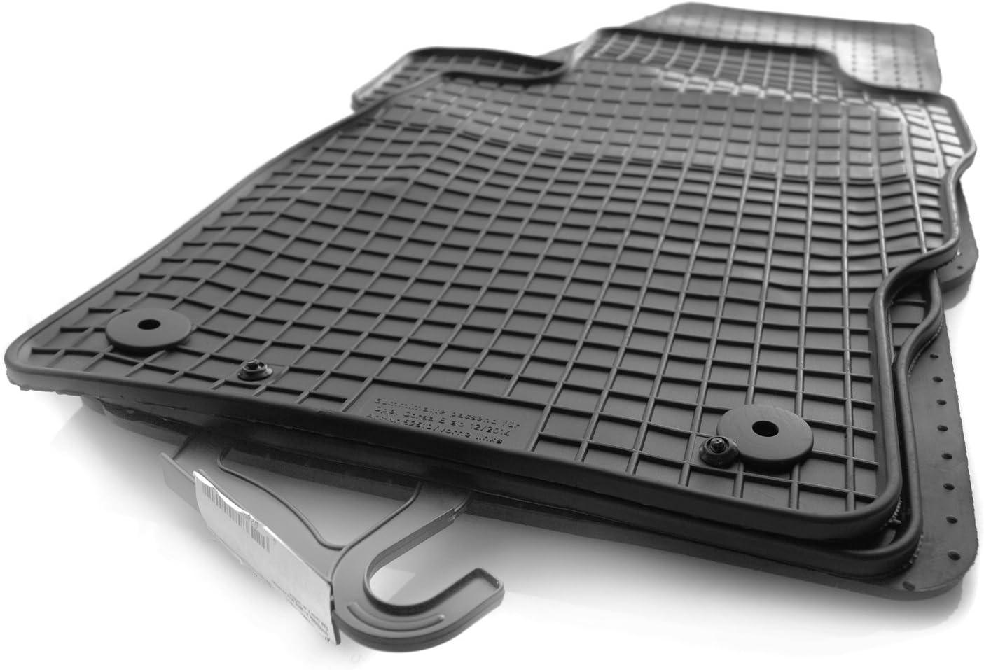 Kh Teile Corsa F Gummimatten Original Qualität Gummi Fußmatten 4 Teilig Schwarz Auto