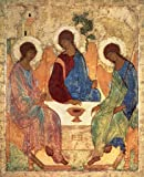 "Art Print / Poster: Andrei Rublev ""The Holy Trinity, 1420s"" - High Quality Picture, Fine Art Poster, 22x28 inch"
