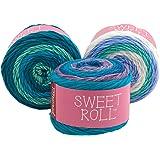 1047-02 YARN SWEET ROLL-BLUEBERRY