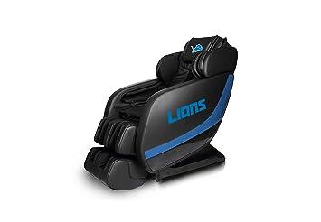 3a9b497a Amazon.com: NFL Electric Full Body Shiatsu Massage Chair Foot Roller ...