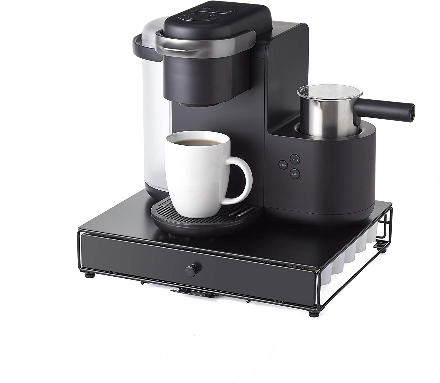 Home Pod Holders Nifty Under the Brewer Coffee Pod Storage Rolling ...