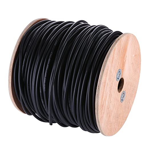 SANNCE 150M/500 Pies Cable Coaxial RG59 / U Cobre Sólido para CCTV Camara de Seguridad: Amazon.es: Electrónica