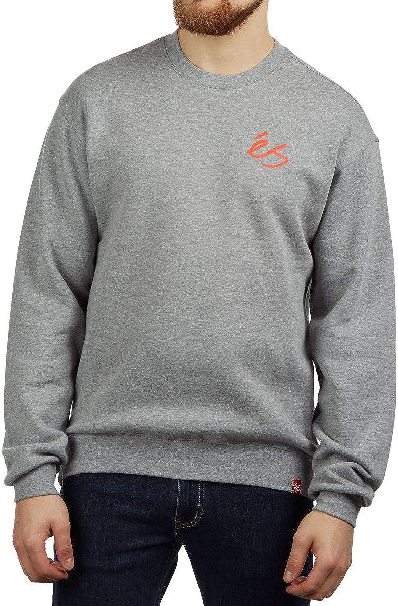 Grey//Heather eS Script Crew Sweatshirt