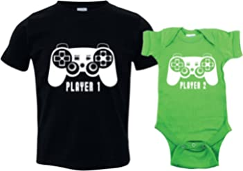 e28bb9fe527a Texas Tees Gamer Sibling Shirts for Sisters and Brothers