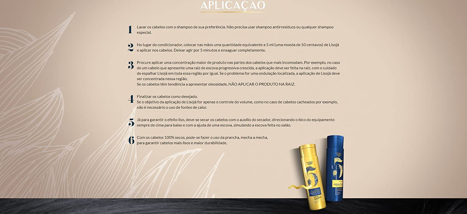 Amazon.com: Linha Liso Ja GetWells - Mascara de Tratamento Queratina Verde 250 Ml - (GetWells Instant Straight Collection - Green Keratin Treatment Mascara ...