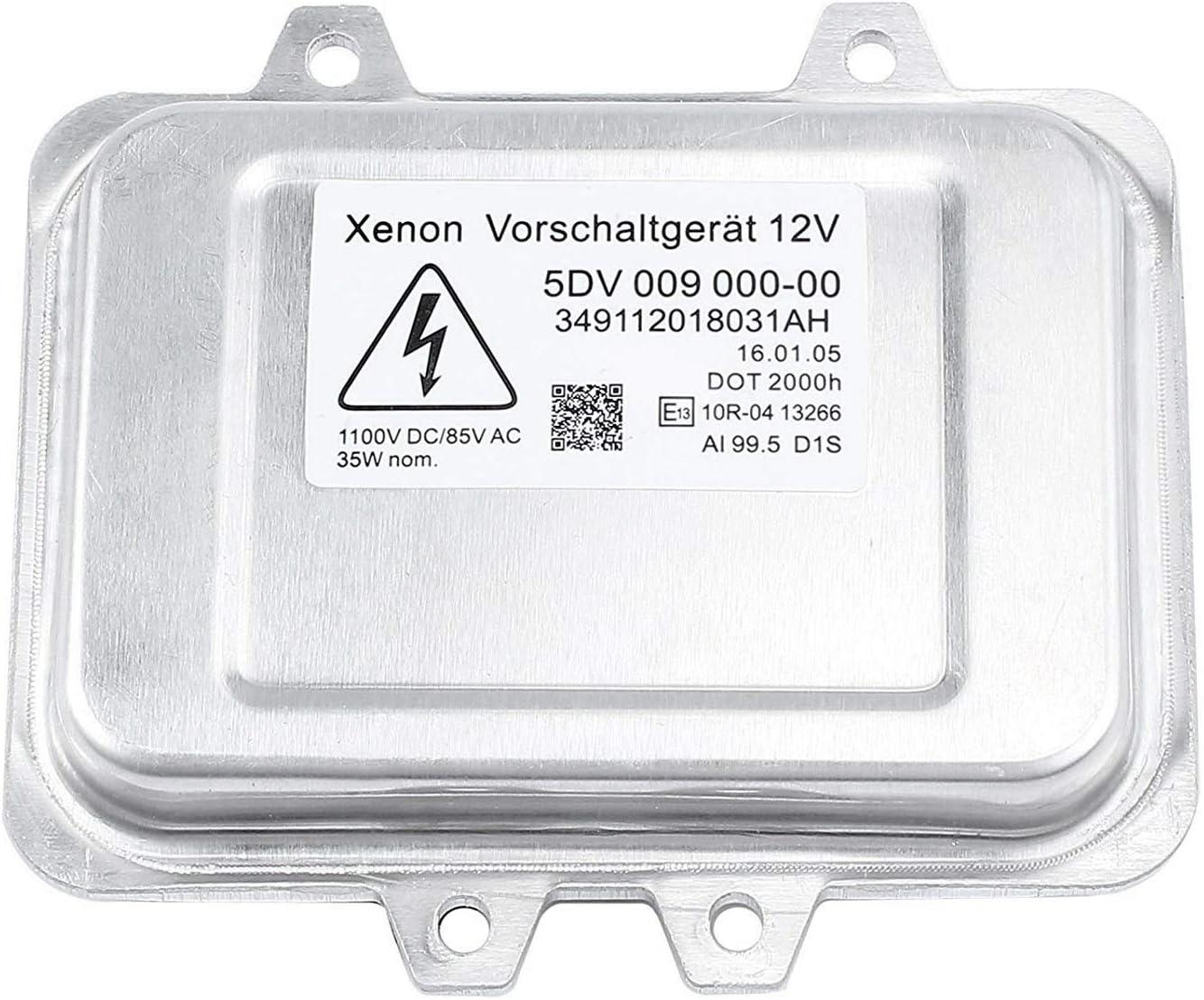 Iycorish 5Dv 009 000-00 Module De Commande De Ballast Phare Cach/é Au X/éNon pour Escalade 2007-2013 2006-2009 S/éRie 5 E60 Mercedes,