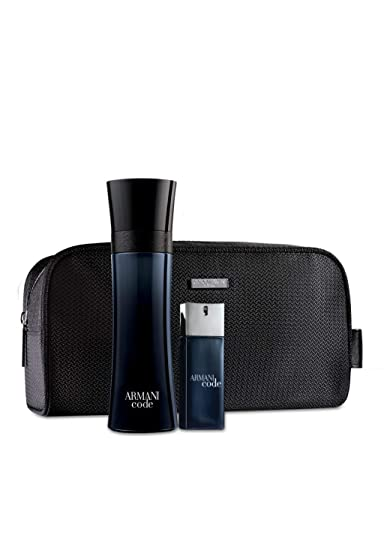 Amazon.com   Giorgio Armani Code Men 3 Piece Set (4.2 Eau de Toilette Spray  + 0.67 Eau de Toilette Travel Spray + Deluxe Grooming Bag)   Beauty 22834dc780