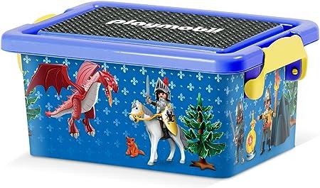 PLAYMOBIL 064700 - Caja DE ALMACENAJE DE Caballeros XS, 3,5 litros EN PVC: Amazon.es: Hogar