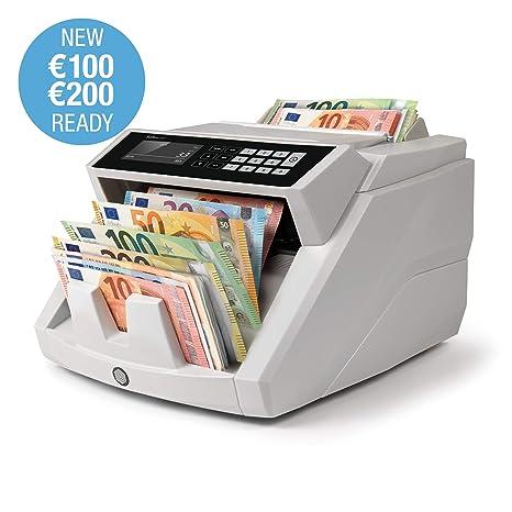 Safescan 2465-S - Contadora totalizadora de billetes. Cuenta billetes de euro mezclados .