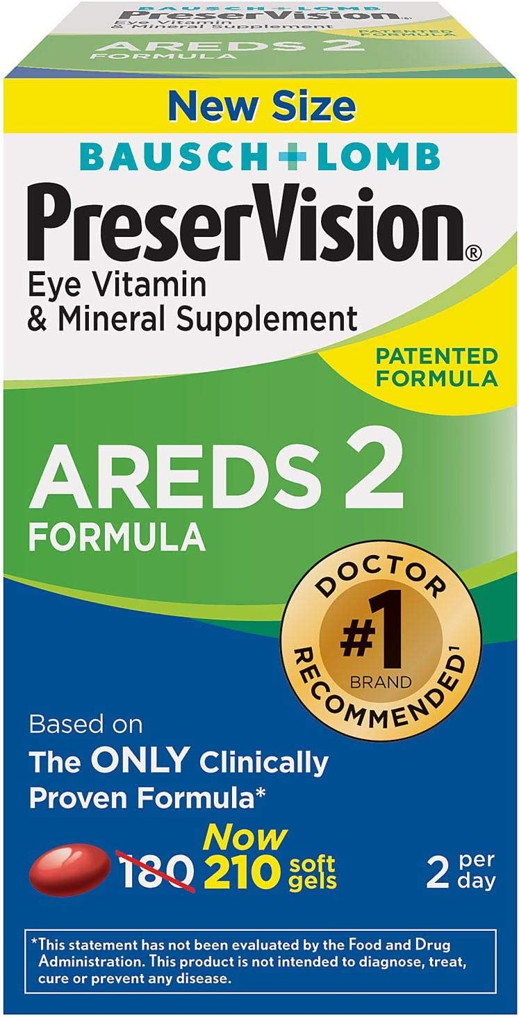 AS AREDS 2 Eye Vitamin & Mineral Supplement (210count)