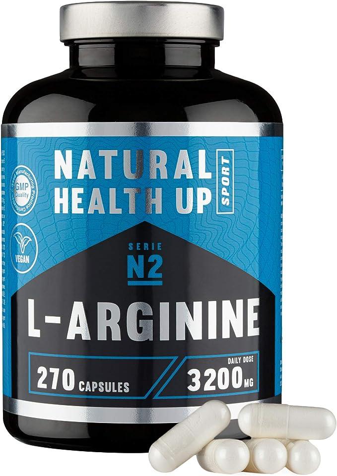 L-arginina 3,2 gramos dosis pura diaria – Suplemento deportivo ...