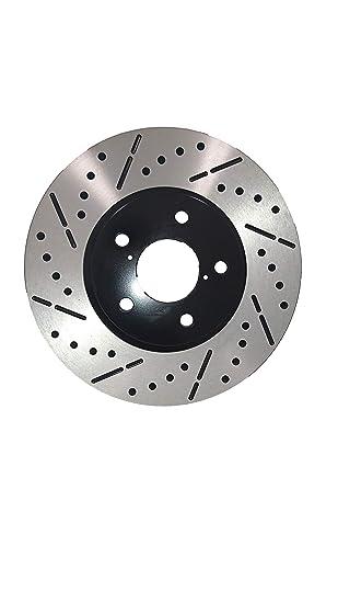 Rotors Ceramic Pads F+R OE Replacement 04 05 Fits Subaru Impreza WRX Non STI