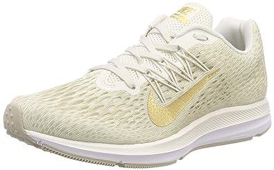56f17cf2db3a6 Amazon.com | Nike Women's WMNS Zoom Winflo 5, Phantom/Metallic Gold ...