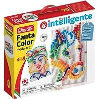 QUERCETTI-Quercetti-0851 Fantacolor Modular 2-Juego de mosaicos, Multicolor (0851)
