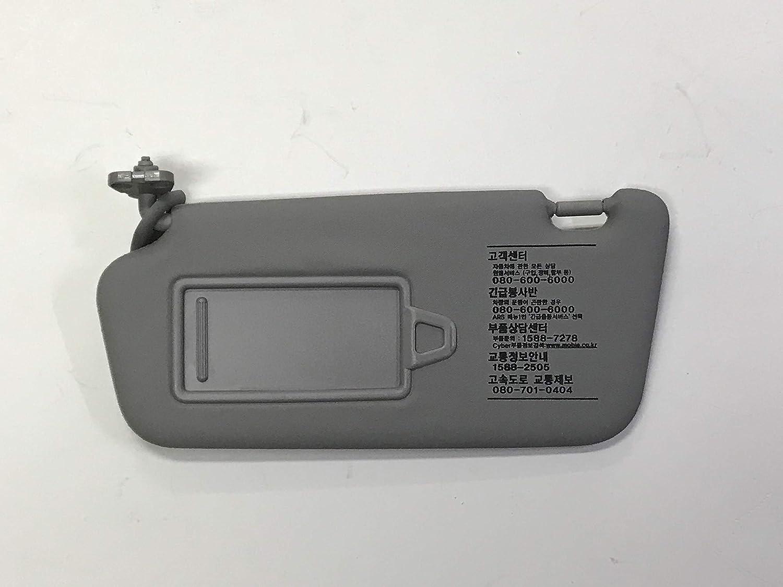 Genuine Sun Visor Gray LH RH 852102B511J4 852202B511J4 2P Hyundai Santa Fe 06-09