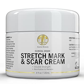 Amazon Com Neuceutica Stretch Mark Scar Reduction Cream 4 Ounce