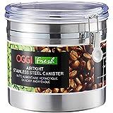 Oggi Jumbo Stainless Steel Kitchen Canister