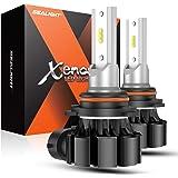 SEALIGHT H10 LED Fog Light Bulbs, 5000 Lumens 12W High Power 6000K Xenon White 300% Brightness, 9140 9145 9040 9045 LED…