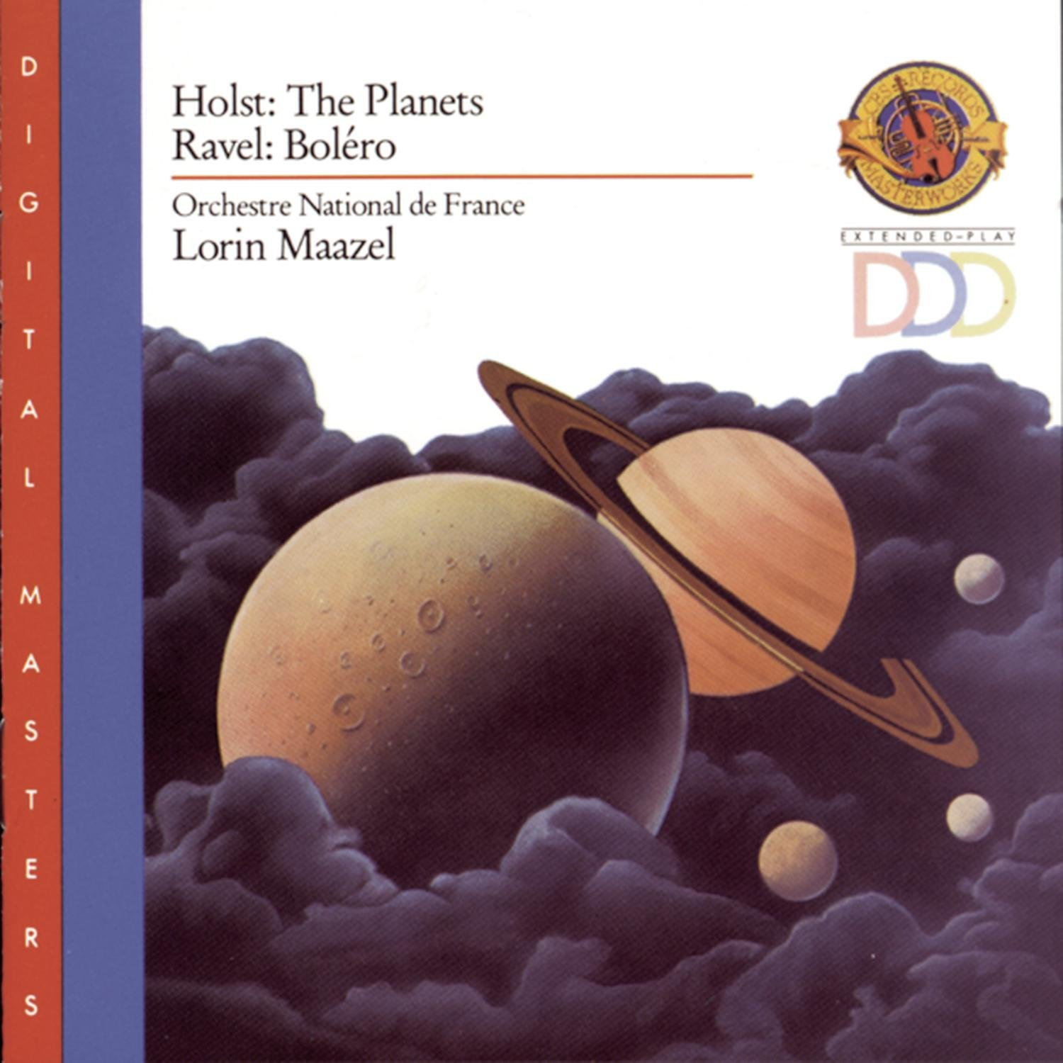Holst: The Planets and Ravel: Bolero by Sony Classical