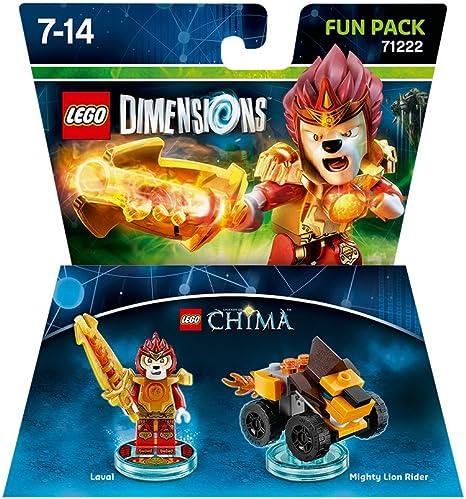 Warner Bros Interactive Spain Lego Dimensions - Figura Chima Laval: Amazon.es: Videojuegos