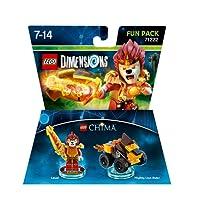 Figurine 'Lego Dimensions' - Laval - Lego Chima : Pack Héros