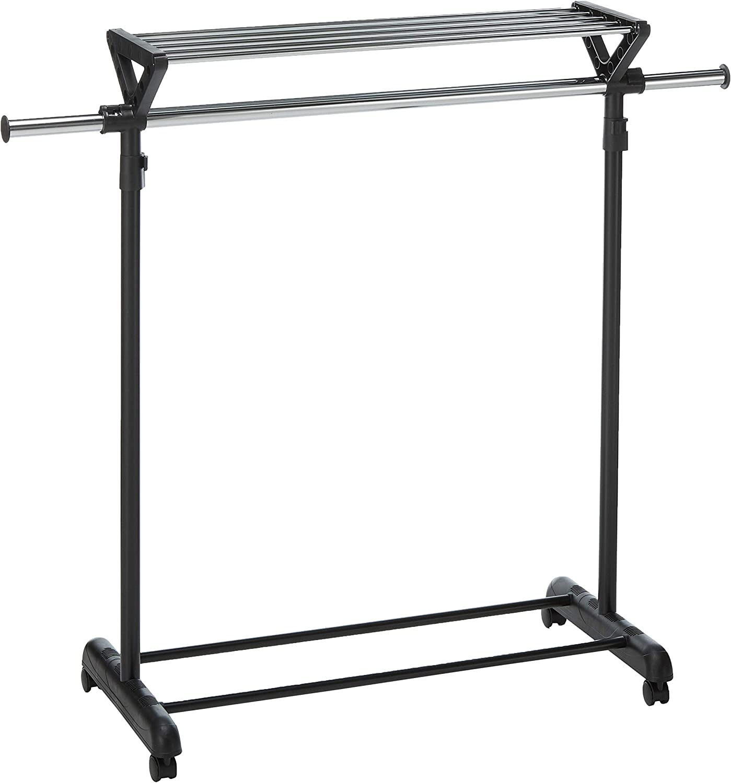 Honey-Can-Do GAR-02123 Extendable/Expandable Portable Laundry Rack Hanger