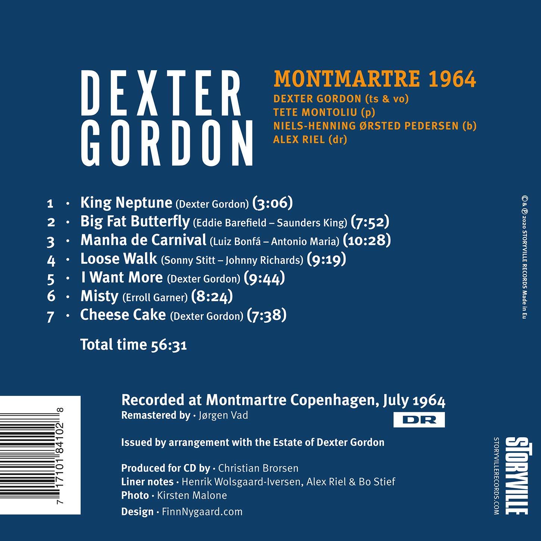 GORDON, DEXTER - Montmartre 1964 - Amazon.com Music