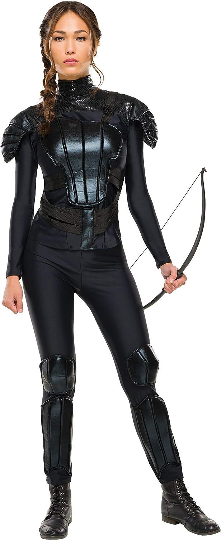 Disfraz de Katniss, de Los Juegos del Hambre, de Rubie'S, Talla M, Busto: 96-102 cm, Cintura: 79-86 cm, Entrepierna: 76 cm