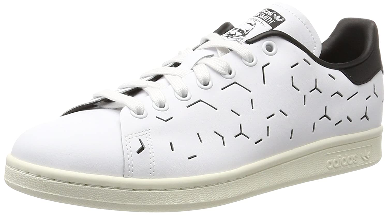 White Black Adidas ORIGINALS Men's Stan Smith shoes