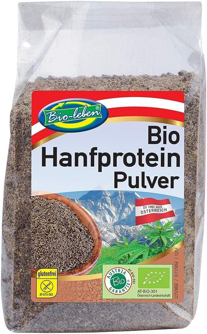 Polvo de proteínas de cáñamo austríaco Bio 42% proteína 3,5kg ...