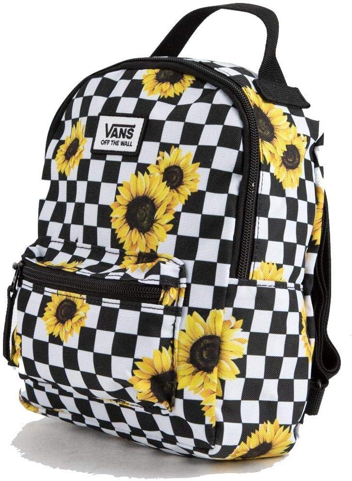 Vans MINI Checkered Yellow Flower Small