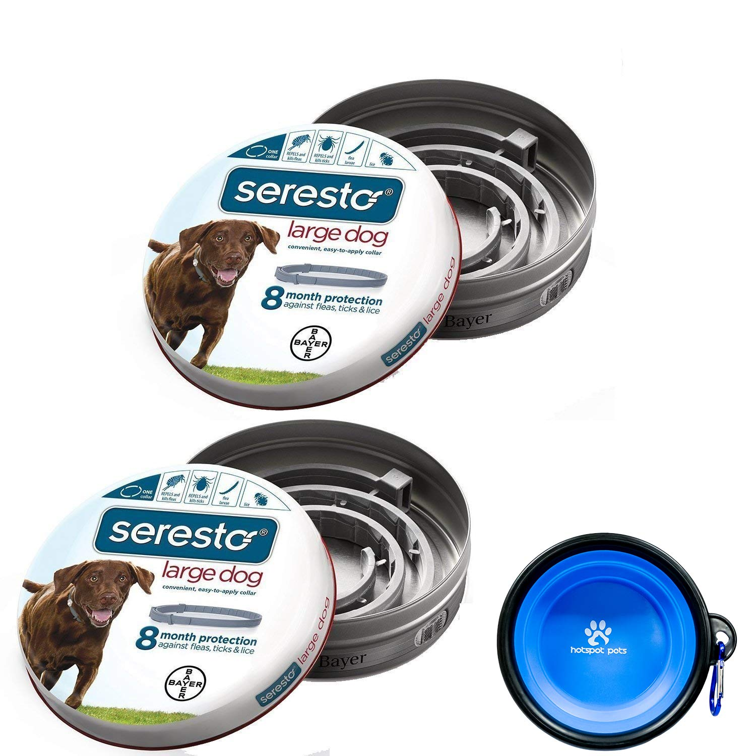 Bayer Seresto Flea and Tick Collar for large Dogs