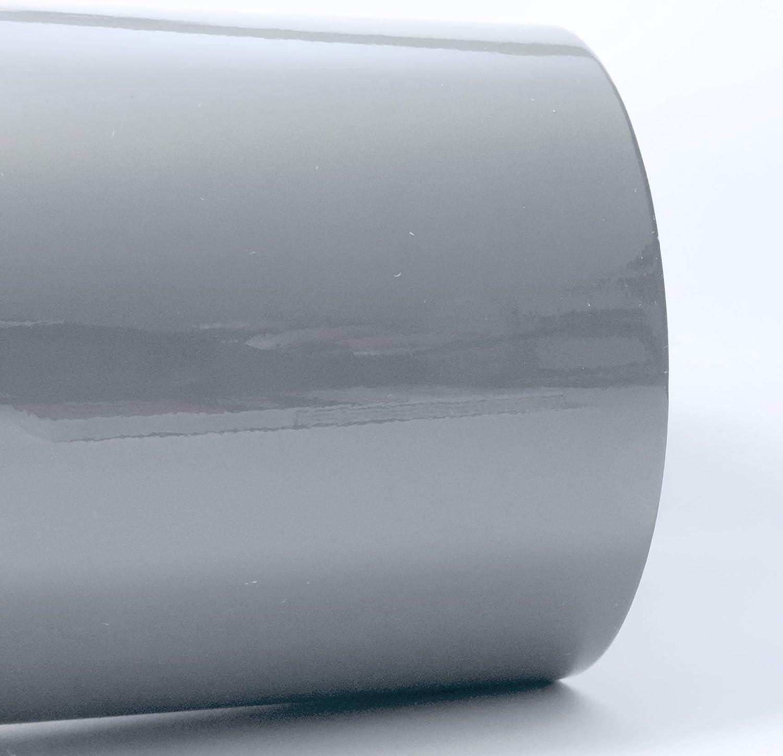 Siviwonder Zierstreifen schiefergrau grau RAL 7000 Glanz in 8 mm Breite und 10 m L/änge Folie Aufkleber f/ür Auto Boot Jetski Modellbau Klebeband Dekorstreifen Grey fehgrau