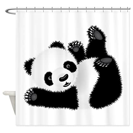 JKYUKO Cute Baby Panda Shower Curtain 60quot