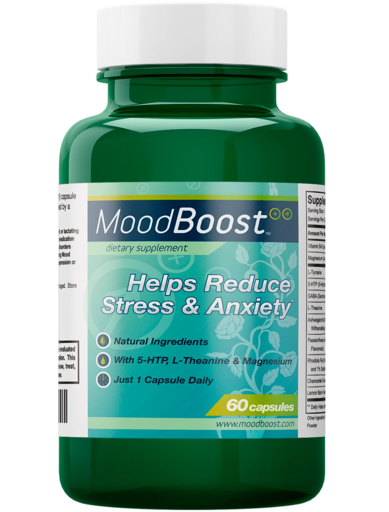 Cheap herbal supplement - Mood Boost Natural Supplement For Stress And Anxiety Relief With 5 Htp