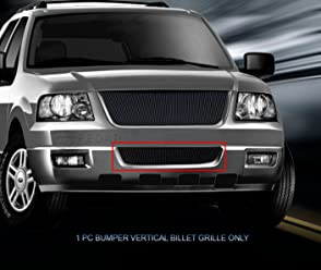Fedar Lower Bumper Overlay Billet Grille Insert for Compatible With 2005-2008 Nissan Frontier//Pathfinder Selected Models