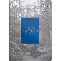 Upward Diaries 2426 Fashion Weekly 2021 Diary, A6 Size - Printed Hard Cover - Blue (UPCY24265)