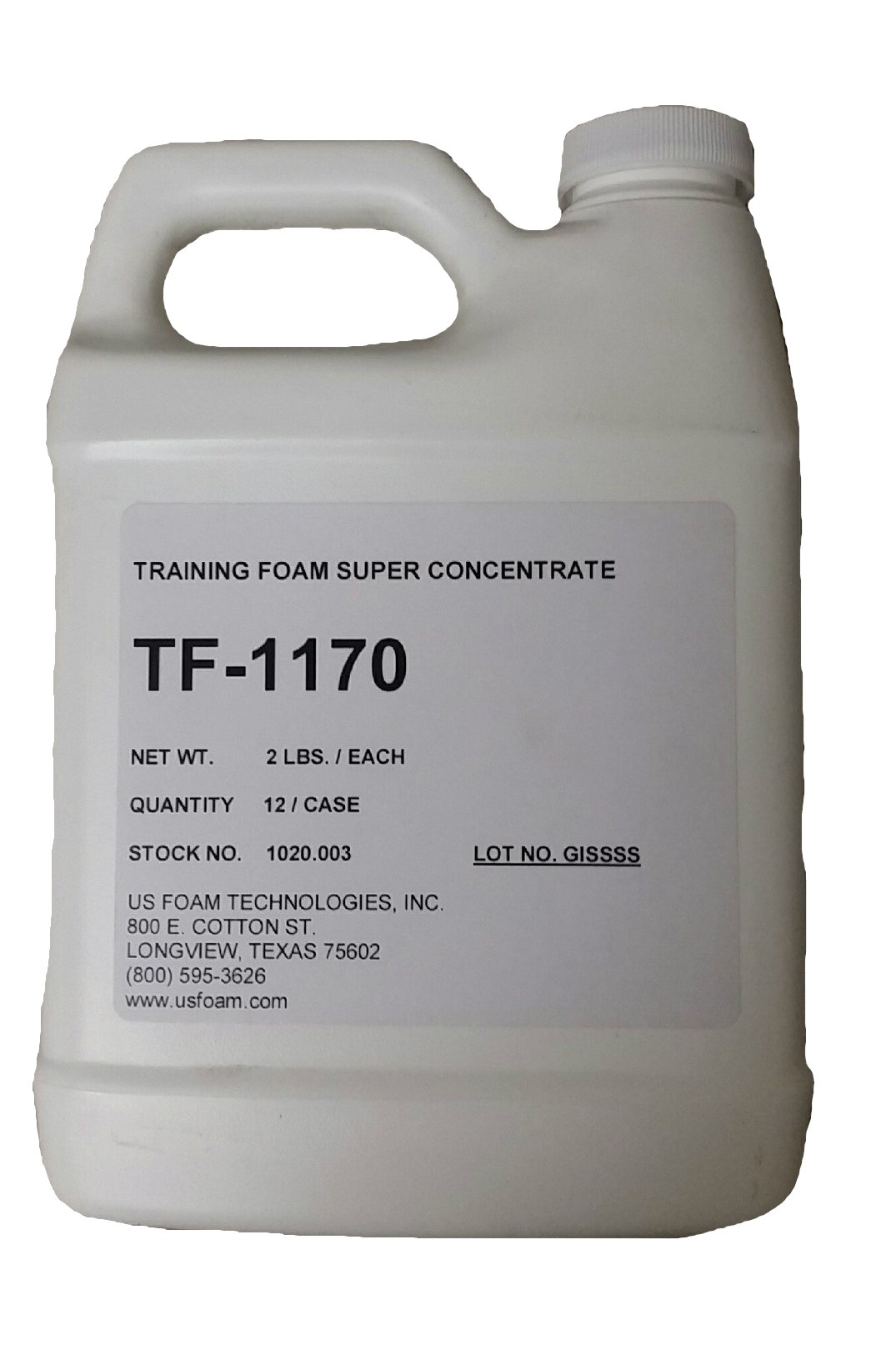 First Strike TF-1170 Super Concentrate Synthetic Foam Agent (Training Foam) - 12 QUART MULTIPACK (Equals 60 Gallons)