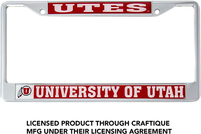 Mascot Desert Cactus University of Portland UP Pilots NCAA Metal License Plate Frame for Front or Back of Car Officially Licensed