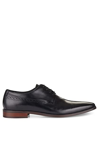 Men's Ainesworth Black Punched Derby