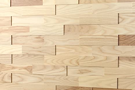 Wodewa rivestimento murale legno di frassino i m² pannelli murali