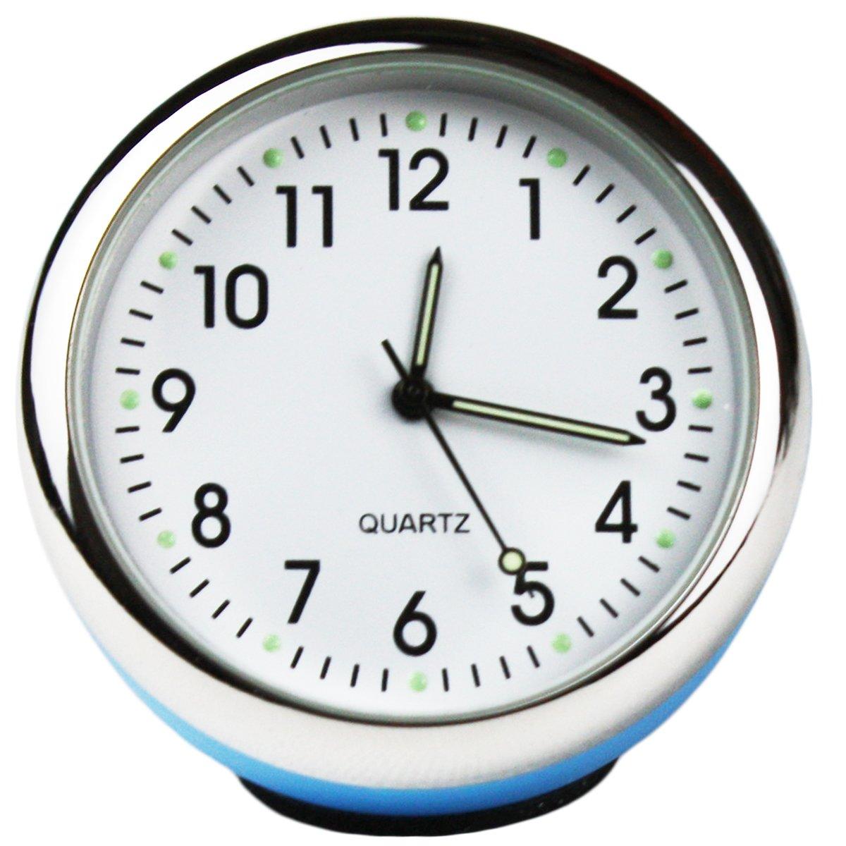 Txian - Horloge à quartz haute précision Petite boule Cadran lumineux Idéal pour décoration de voiture